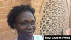 Grace Attignon de Souza, directrice du foyer de jeune fille à Agomé Tomégbé, Togo, 6 décembre 2017. (VOA/Kayi Lawson)