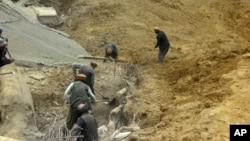 سال گذشته نیز لغزش زمین در ولسوالی ارگوی ولایت بدخشان ۳۵۰ کشته برجاگذاشت