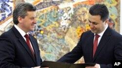 Груевски доби мандат од Иванов за нова влада