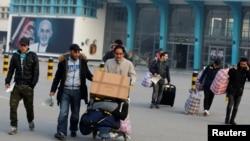 """آرشیف: وزارت مهاجرین گفته است که این پناهجویان بر اساس """"اعلامیۀ مشترک"""" میان افغانستان و اتحادیه اروپا اخراج میشوند"""