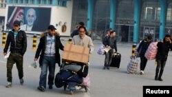Kobul aeroporti oldida