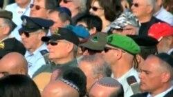Vicepresidente Biden en funeral de Ariel Sharon
