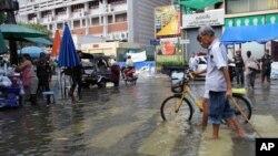 Trận lụt năm 2011 là trận lụt dữ dội nhất ở Thái Lan trong vòng nửa thế kỷ