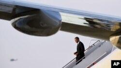 Tin tức về việc Mỹ tính chuyện đặt thiết bị quân sự ở Việt Nam được loan đi trong bối cảnh Tổng thống Barack Obama sẽ tới Việt Nam sớm Chủ Nhật này.