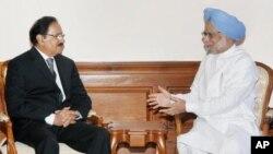 پاکستانی وزیر تجارت امین فہیم کی بھارتی وزیراعظم من موہن سنگھ سے ملاقات