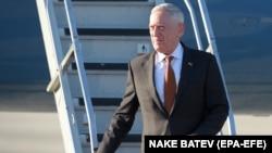 Američki ministar odbrane James Mattis stigao u Makedoniju, Skoplje, 17. septembar 2018.