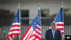 Amerika 11-sentabr xurujlari va qurbonlarni xotirlamoqda