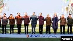 東南亞國家領導人2018年在印尼出席會議
