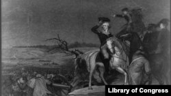 "Print: ""Washington, Crossing the Delaware"""