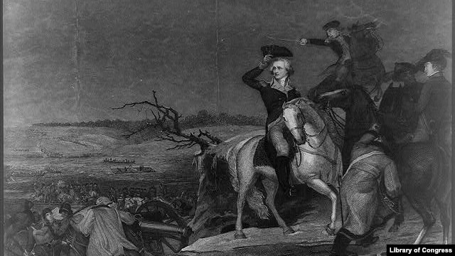 "Print: ""Washington, Crossing the Delaware"""