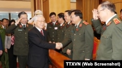 Bộ Chính trị ĐCS mới phê chuẩn đề án cải tổ Bộ Công an Việt Nam