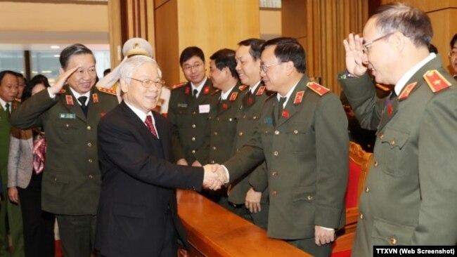 Tổng Bí thư Nguyễn Phú Trọng dự Hội nghị Công an toàn quốc lần thứ 73