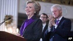 美國民主黨總統競選人希拉里·克林頓