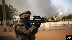 Các lực lượng Pháp đã tiến vào Mali hồi tháng Giêng để đẩy lui các phần tử Hồi giáo cực đoan.
