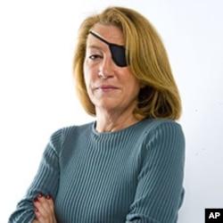 英國《星期日泰晤士報》的美國記者瑪麗.科爾文。(資料圖片)