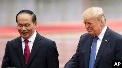 Дональд Трамп и Чан Дай Куанг
