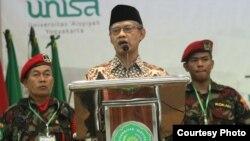 Ketua PP Muhamadiyah, Haedar Nashir. (foto Humas Aisyiah)
