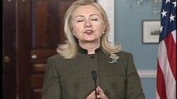Clinton - Davutoğlu Görüşmesi