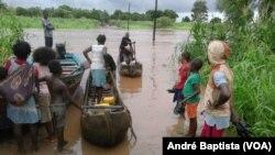 Inundações em Manica, Moçambique, (Foto de Arquivo)