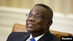 Le défunt président John Evans Atta Mills