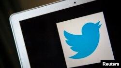 運營社交網絡微博客的推特公司的標誌。