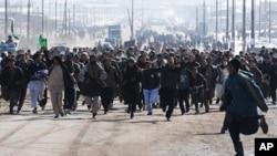 سومین روز اعتراضات افغان ها درپی بی حرمتی به متون مذهبی