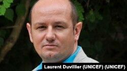 Laurent Duvillier, du Bureau régional de l'UNICEF pour l'Afrique de l'Ouest et du Centre