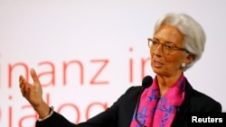 크리스틴 라가르드 국제통화기금 (IMF) 총재 (자료사진)