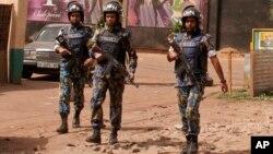Des casques bleus de l'ONU au Mali