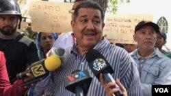 Pablo Zambrano es el Secretario Ejecutivo de la Federación de Trabajadores de la Salud (Fetrasalud)