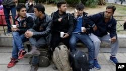 Arhiva - Avganistanski migranti u Atini, Grčka.