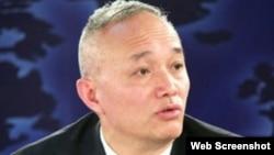 中央國安委辦公室副主任蔡奇 (資料圖片)