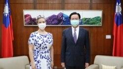 美國在台協會新任處長會晤台灣外交部長