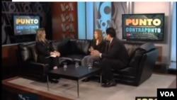 Melisa Díaz e Israel Ortega, colaboradores habituales de Foro Interamericano hablan con el equipo de www.voanoticias.com para desvelar las claves de la campaña.