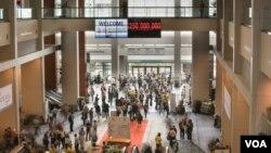 Hội nghị Quốc tế về bệnh AIDS lần thứ 19 diễn ra tại Trung tâm Hội nghị Washington ở thủ đô Washington