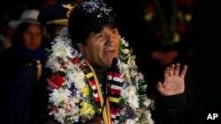 A su regreso a Bolivia donde fue calurosamente recibido por sus partidarios, Evo Morales dijo que su único pecado es ser indígena y antiimperialista.