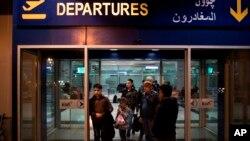 因川普旅行禁令而受影响的难民们