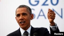 Presiden AS Barack Obama mengatakan pada KTT G-20 bahwa konflik di Suriah tak bisa diselesaikan hanya dengan cara militer (6/9).