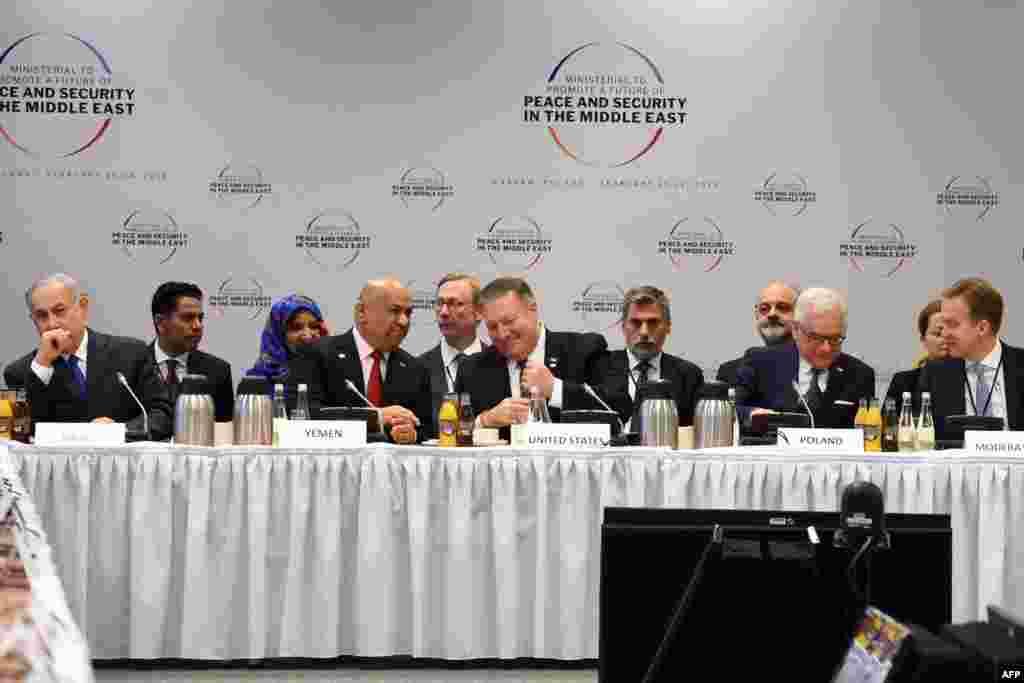 کنفرانس «امنیت و آینده صلح خاورمیانه» صبح پنجشنبه در ورشو با حضور نمایندگان حدود هفتاد کشور آغاز شد.