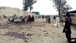 阿富汗東部霍斯特省星期四發生自殺炸彈爆炸