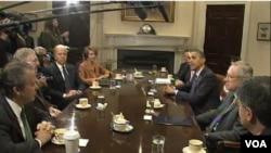 美国国会两党正集中讨论财政问题