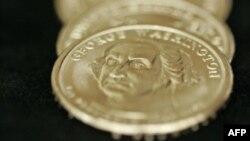 美國一美元硬幣
