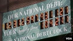 Sebagian besar anggaran AS dikhawatirkan akan lebih banyak dipakai untuk membayar utang dan tidak untuk menstimulasi ekonomi domestik.