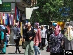新疆景象(美国之音东方拍摄)