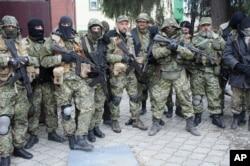 نیروهای مسلح حامی روسیه