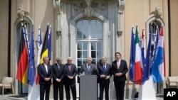 欧盟六个创始成员国外长在柏林召开临时会议讨论欧盟前途。
