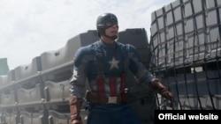 """Salah satu adegan dalam film """"Captain America"""" (Foto: dok)."""