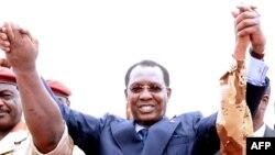Le président du Tchad Idriss Deby Itno à N'Djamena, le 13 mai 2013.