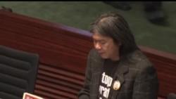 2013-01-09 美國之音視頻新聞: 香港立法會否決泛民主派彈劾梁振英議案