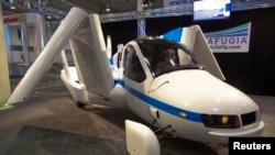 美国飞行车公司特拉福吉亚的飞行车(2012年4月5日)